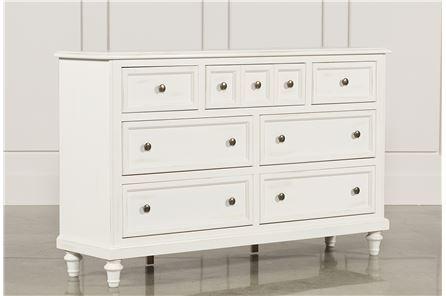 Ashlyn White Dresser - Main