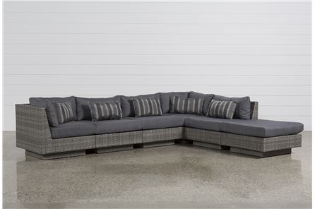 Varadero 6 Piece Sectional W/1 Ottoman & 2 Corners - Main