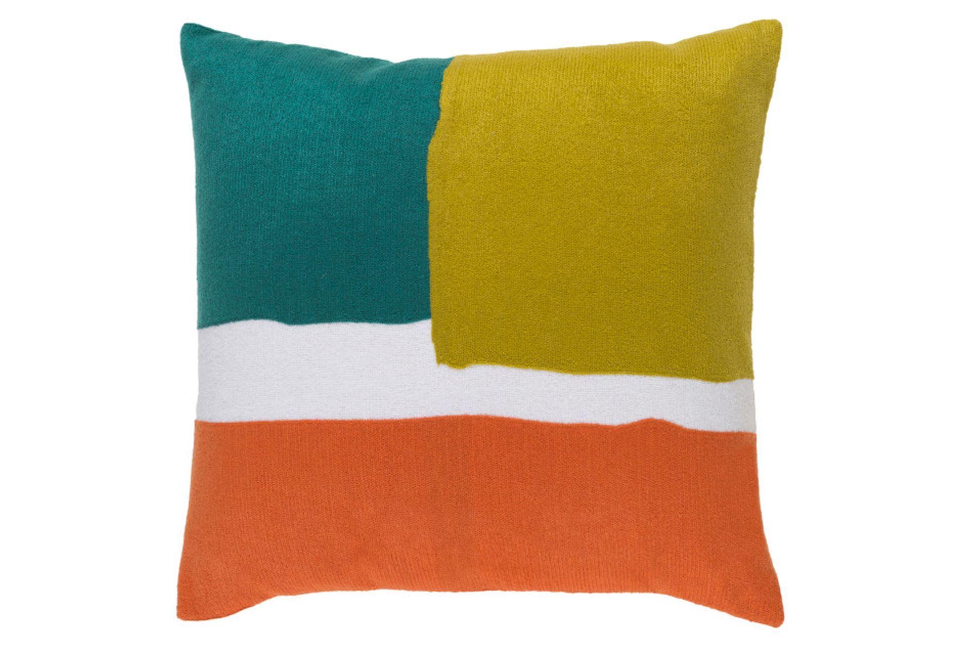Decorative Pillows Living Spaces : Accent Pillow-Stevens Green Multi 20X20 - Living Spaces