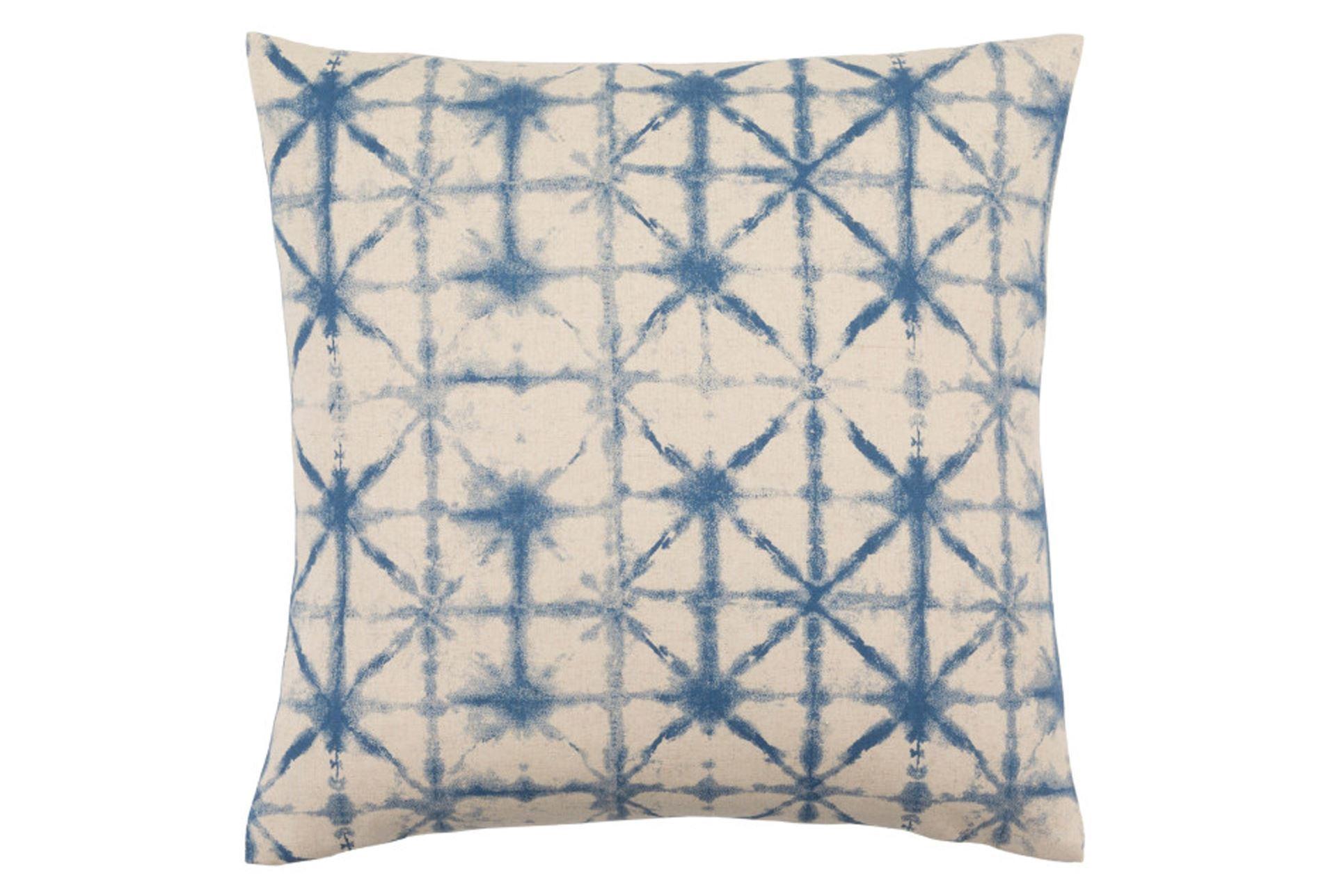 Decorative Pillows Living Spaces : Accent Pillow-Luna Cobalt 18X18 - Living Spaces