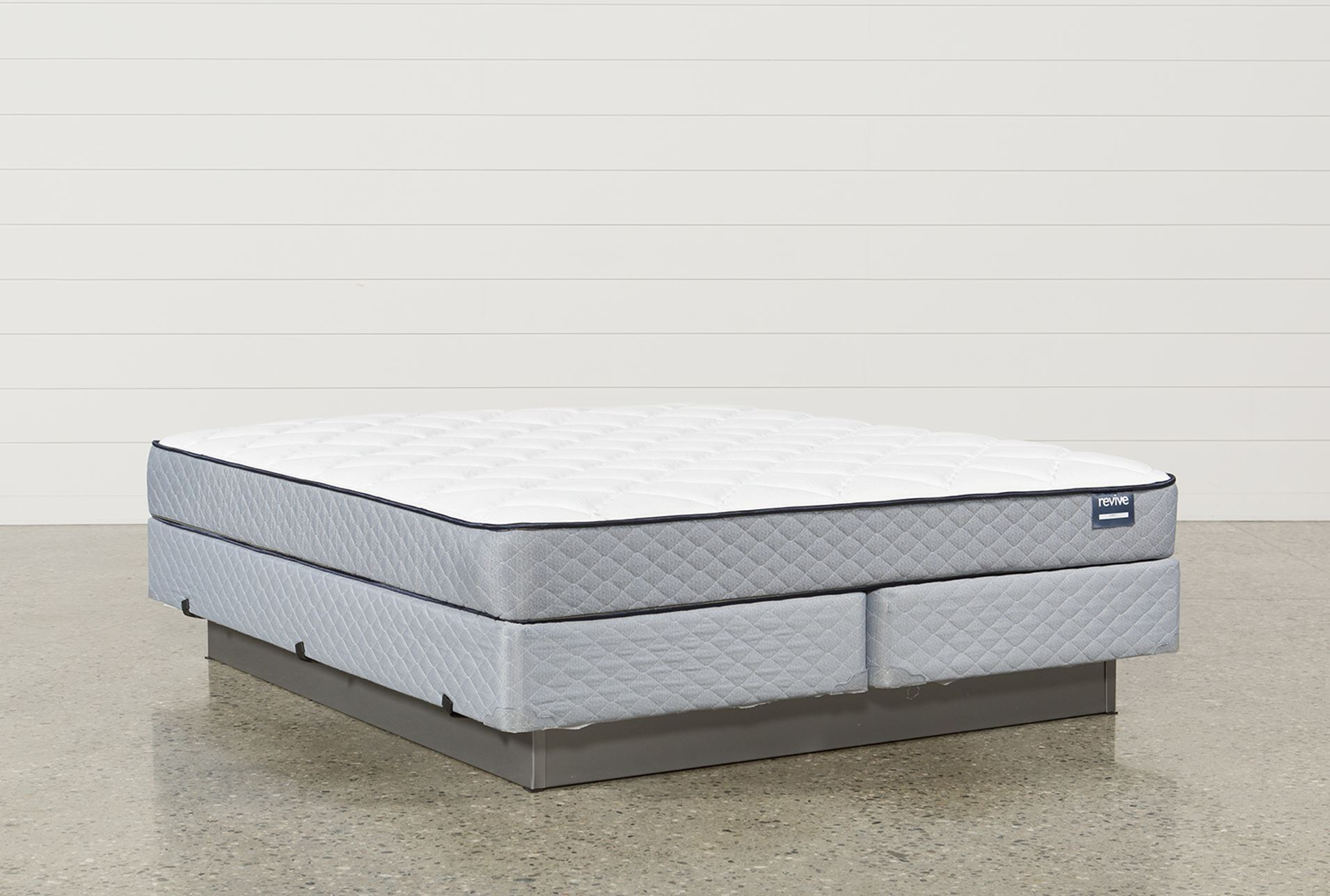 Carly Eastern King Mattress W Foundation Living Spaces