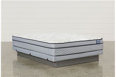 Joy Queen Mattress W/Low Profile Foundation - Main