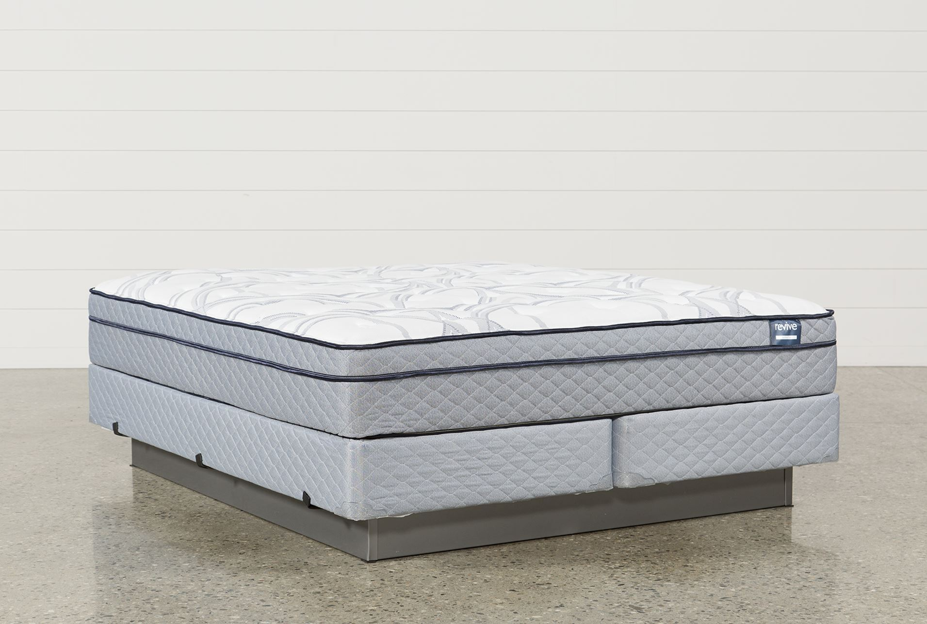 Joy Eastern King Mattress W Foundation Living Spaces