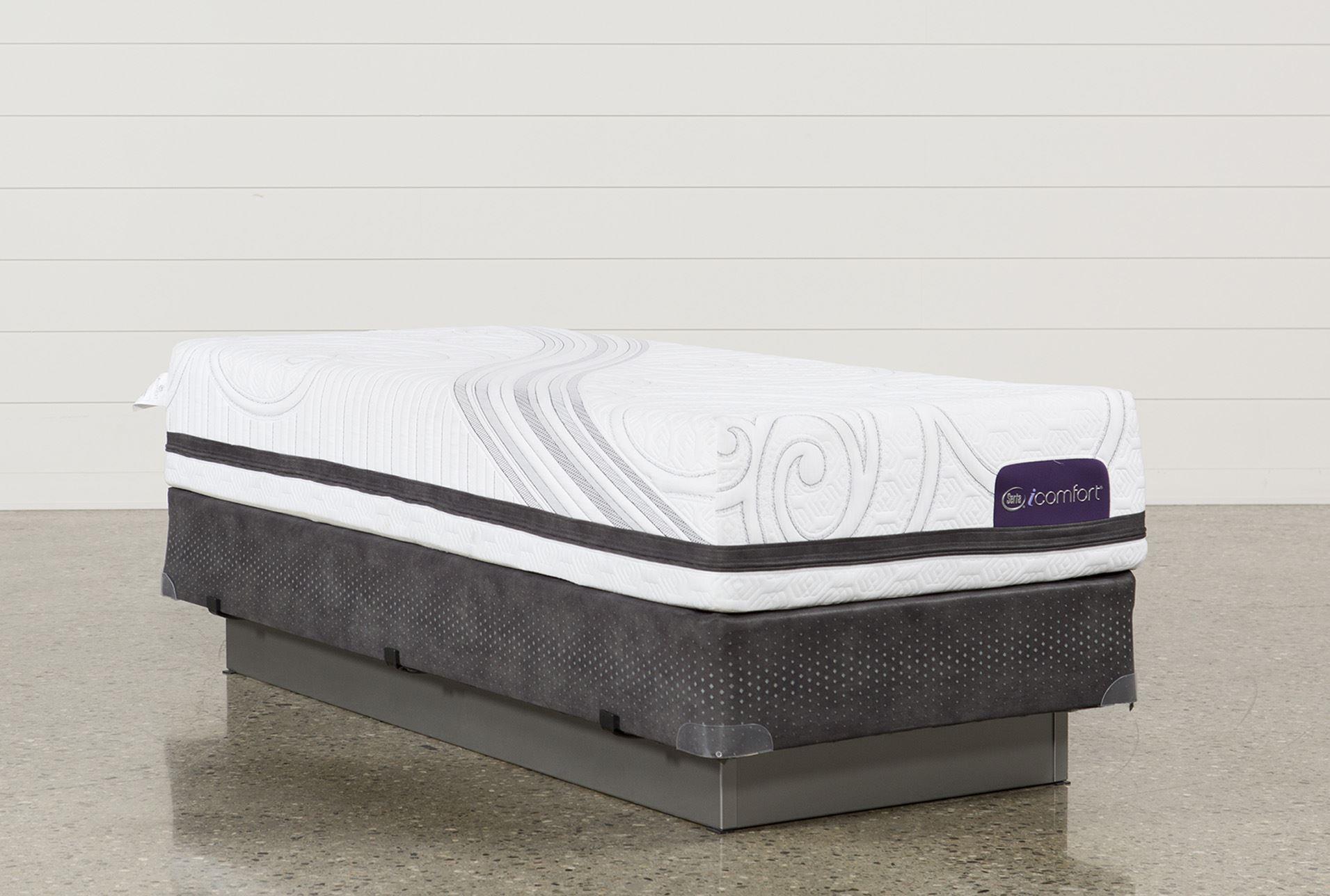 Savant Iii Plush Twin Extra Long Mattress W Foundation Living Spaces