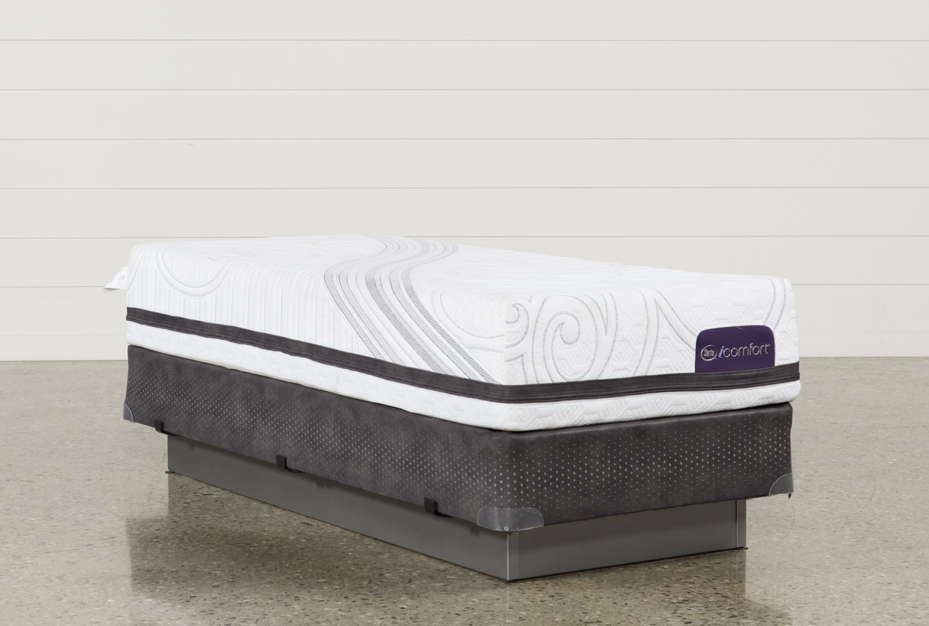 Savant Iii Firm Twin Extra Long Mattress W Foundation Living Spaces