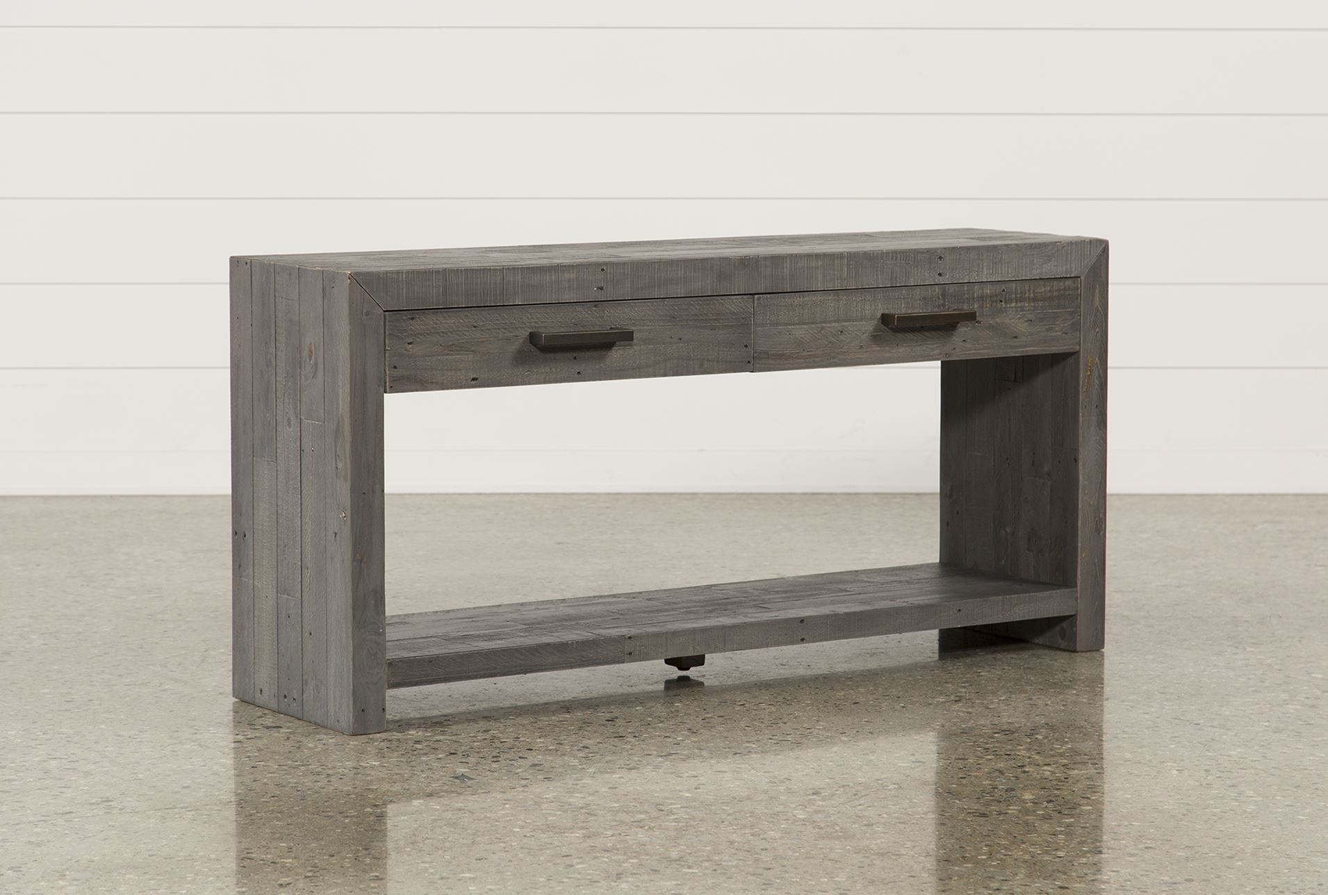 Zander console table living spaces for Living spaces sofa table