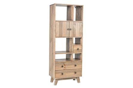 Otb Natural 2-Drawer Bookcase - Main