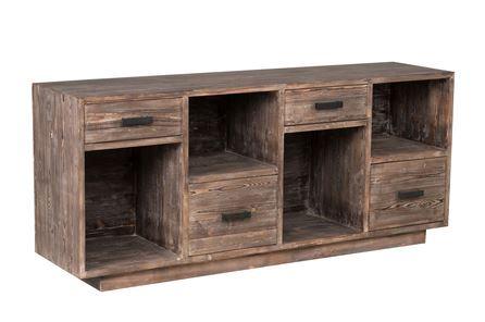Otb Natural 4-Drawer Sideboard - Main
