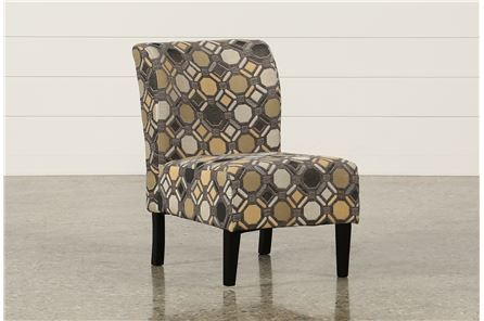 Tibbee Slate Accent Chair - Main