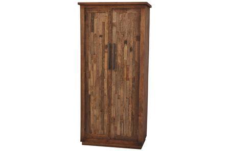 Otb Vintage Finish 2-Door Tall Cabinet - Main