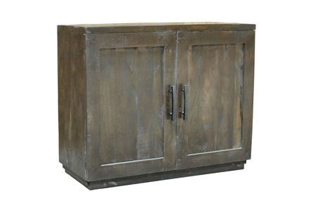 Otb Charcoal Finish 2-Door Server - Main
