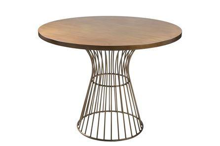 Otb Antique Bronze Bistro Table - Main