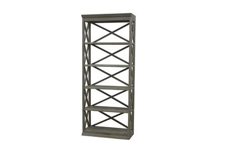 Otb Natural Grey 89 Inch Stacking Bookcase - Main