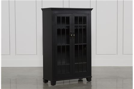 Hamden Black Cabinet - Main