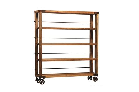 Otb Natural Pine Wood Bookshelf - Main