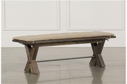Mallard Bench W/Cushion - Main
