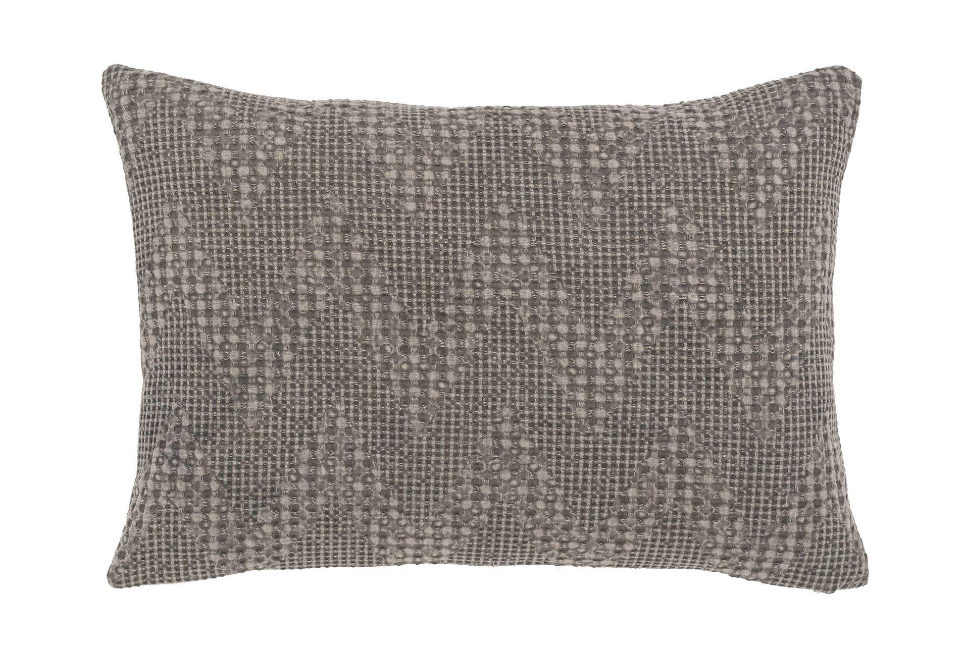 Decorative Pillows Living Spaces : Accent Pillow-Classic Chevron Grey 14X20 - Living Spaces