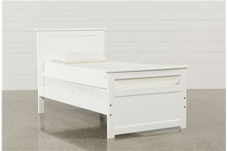 Summit White Twin Panel Bed - Main