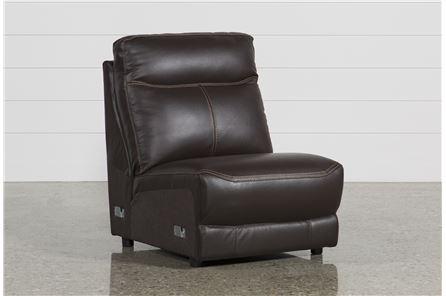 Courtney Walnut Armless Chair - Main