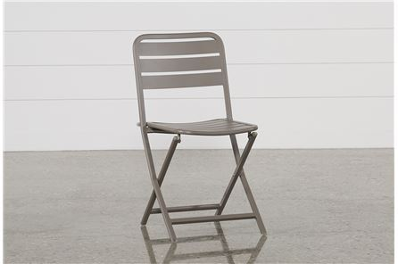 Carnivale Taupe Folding Chair - Main