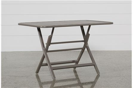Carnivale Taupe Folding Table - Main