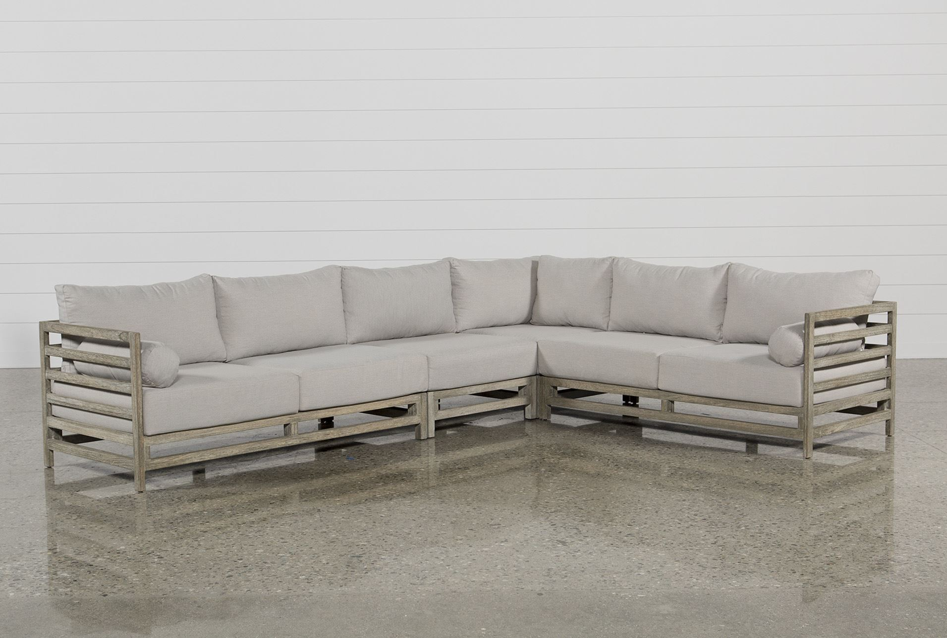 Pompeii 4 Piece Sectional Living Spaces