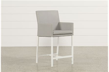Biscayne Upholstered High Dining Chair - Main