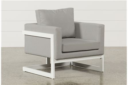 Biscayne Upholstered Lounge Chair - Main