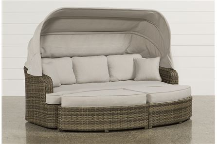 Aventura Daybed W/2 Ottomans