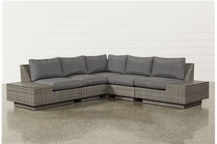 Varadero 5 Piece Sectional W/2 Storage Corners - Main