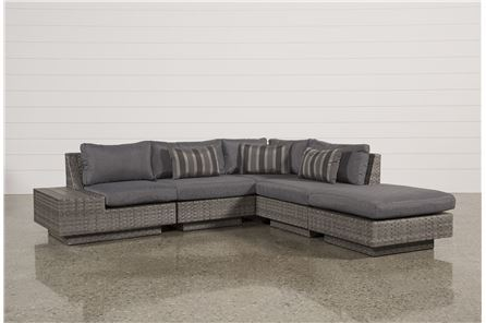 Varadero 5 Piece Sectional W1 Ottoman & 1 Storage Corner - Main