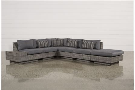 Varadero 6 Piece Sectional W/1 Ottoman & 1 Storage Corner - Main