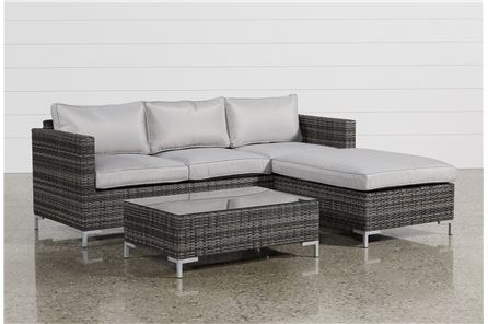 Domingo Sofa W/Reversible Chaise & Cocktail Table - Main