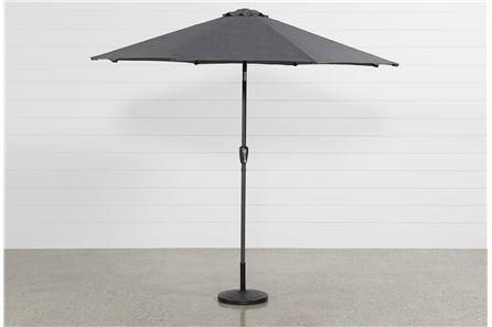 Grey Parasol Umbrella - Main