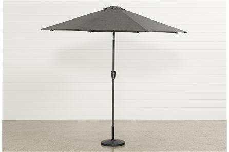 Parasol Grey 9 Foot Umbrella - Main