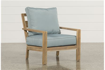 Antigua Teak Lounge Chair - Main