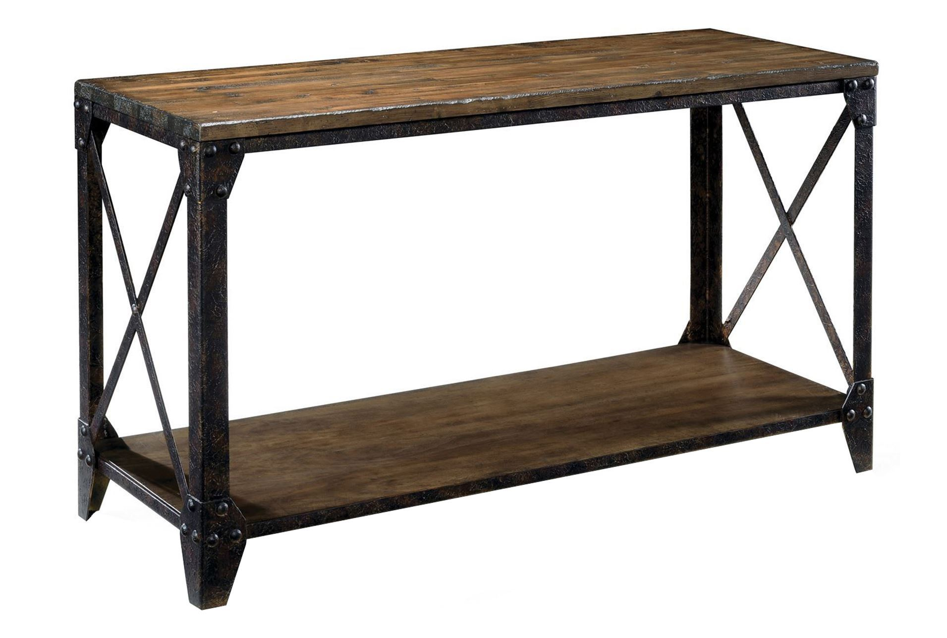 Mountainier sofa table living spaces for Living spaces sofa table