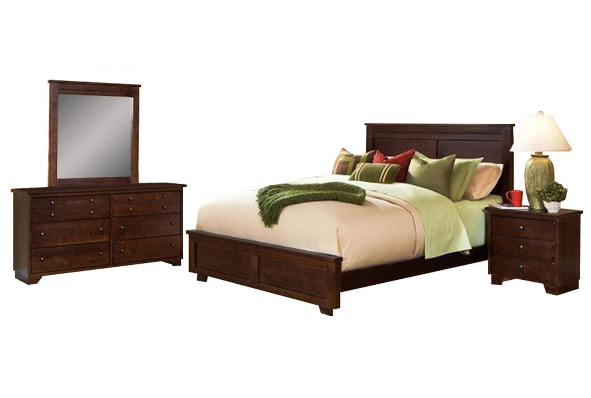 Living Spaces Bed : Marco Queen 4 Piece Bedroom Set - Living Spaces