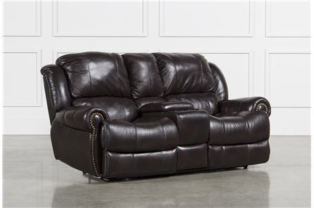 Capitol Power Dual Reclining Loveseat W/Console - Main