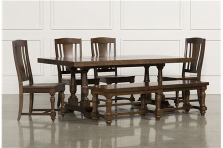 Arlo Wood 6 Piece Dining Set - Main