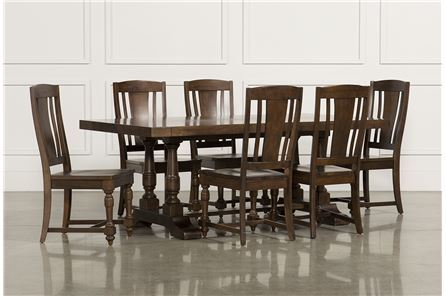 Arlo Wood 7 Piece Dining Set - Main