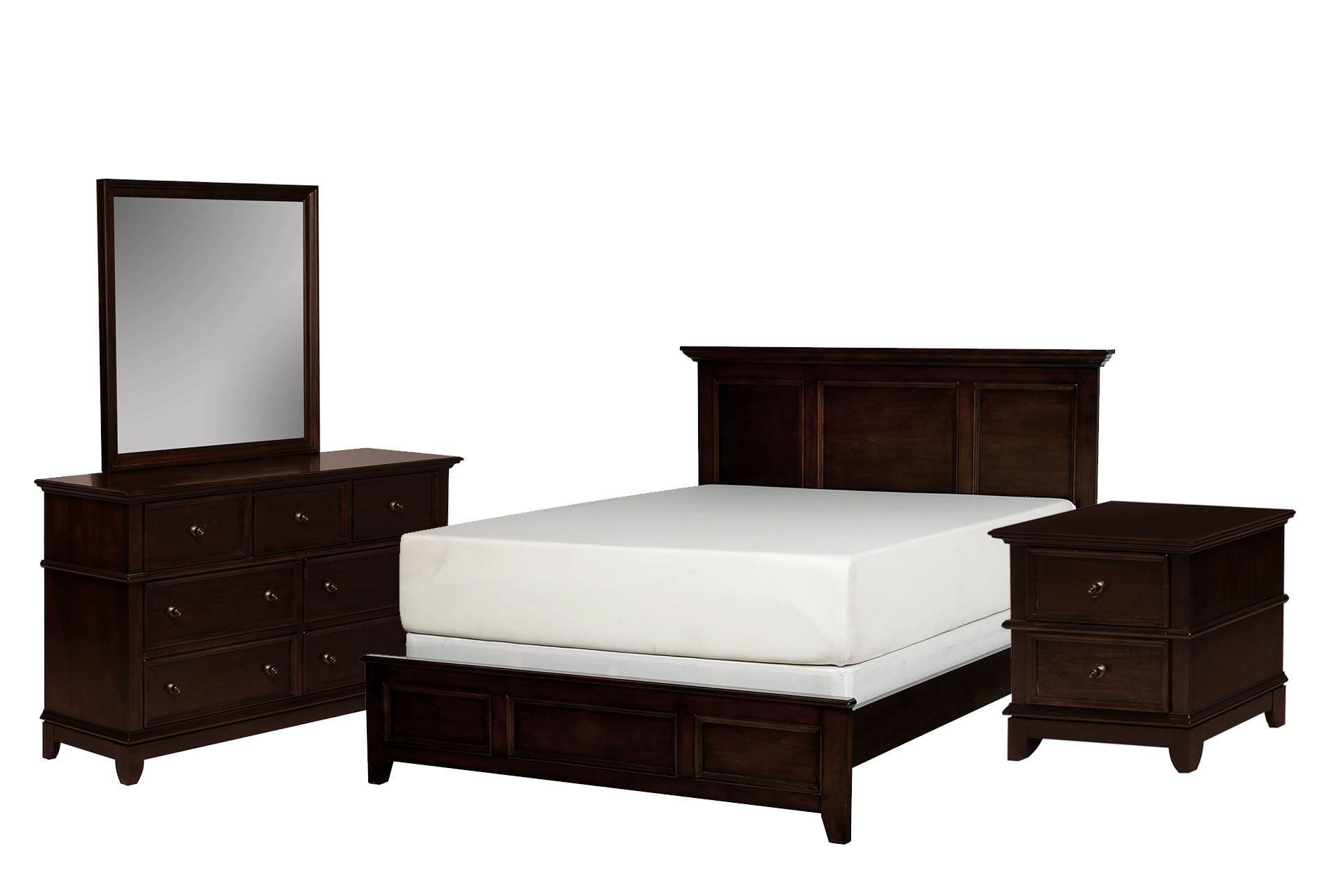 dalton california king 4 piece bedroom set living spaces