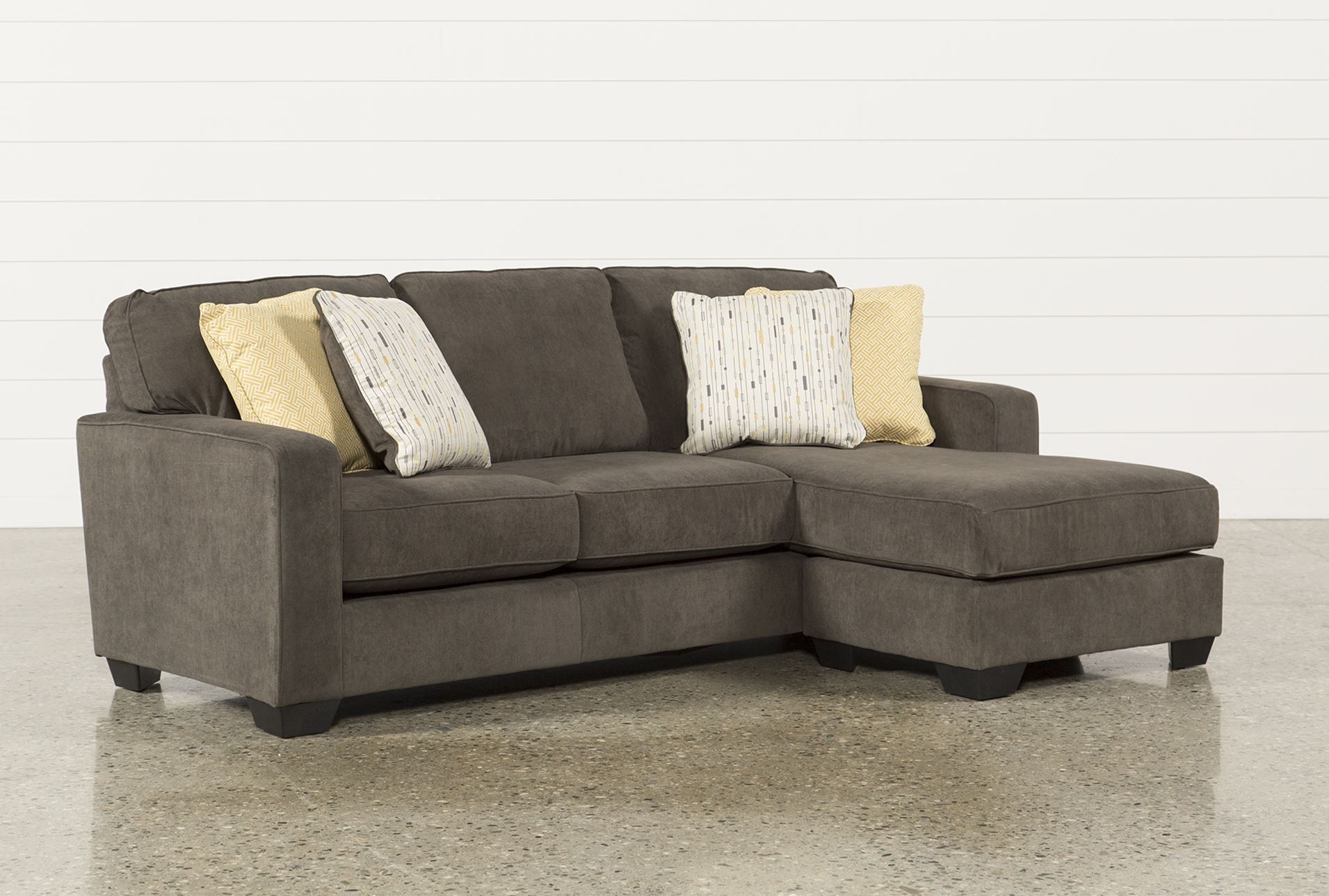 Hodan sofa chaise living spaces for Ashley furniture chaise lounge couch