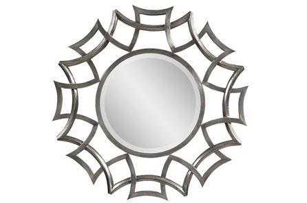 Buy mirrors metal wood frame low price guarantee for Miroir 40x40