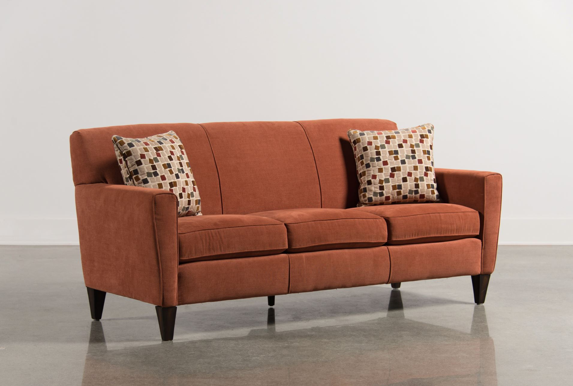 Orange living room furniture living spaces Living spaces furniture