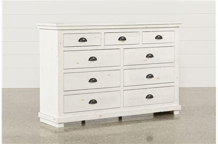 Sinclair White Dresser - Main