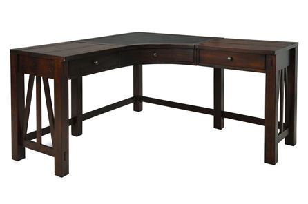 Shop all home office furniture home office furniture sets living spaces - Corner desks small spaces collection ...