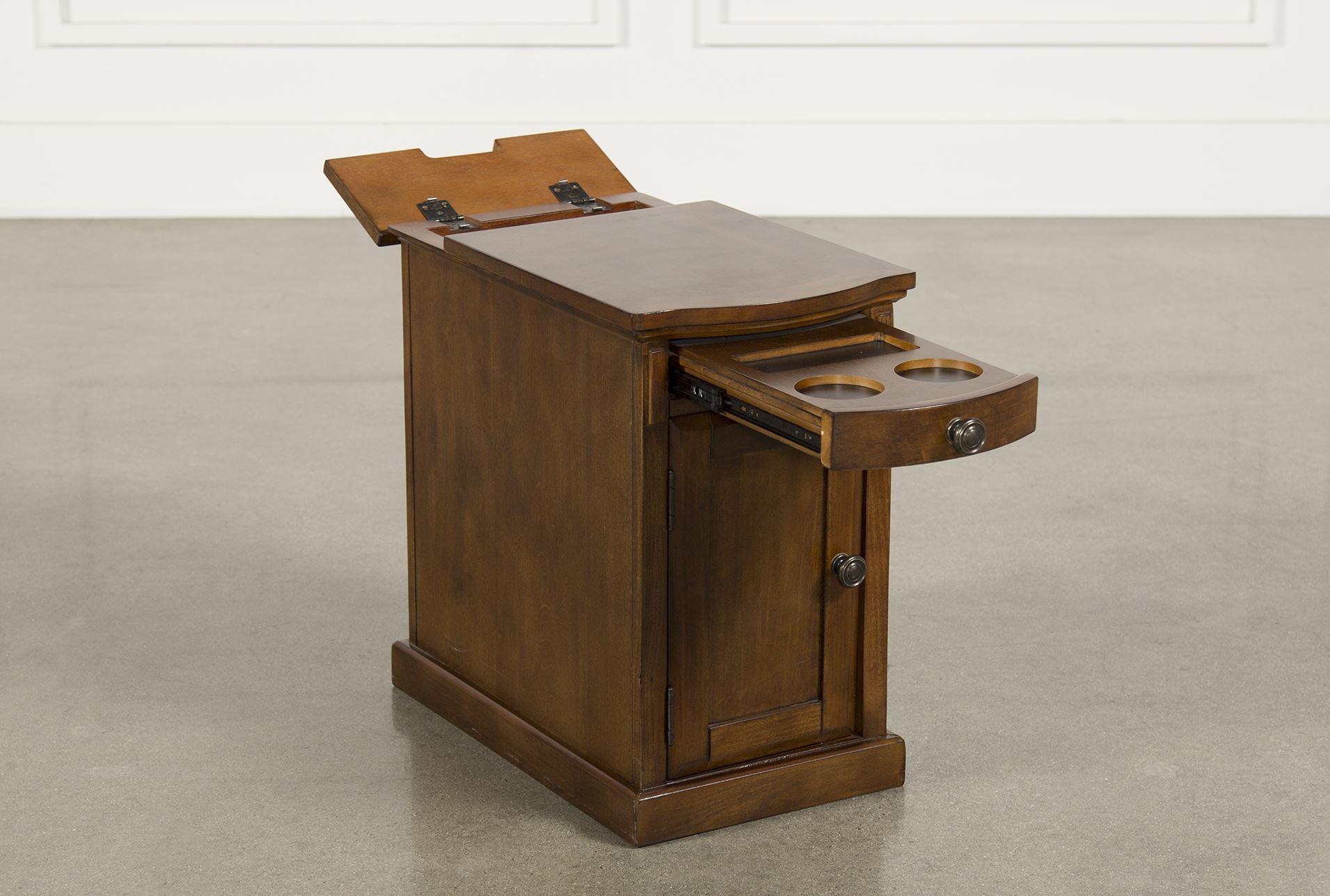 preloadTyson Power Chairside Table - Back