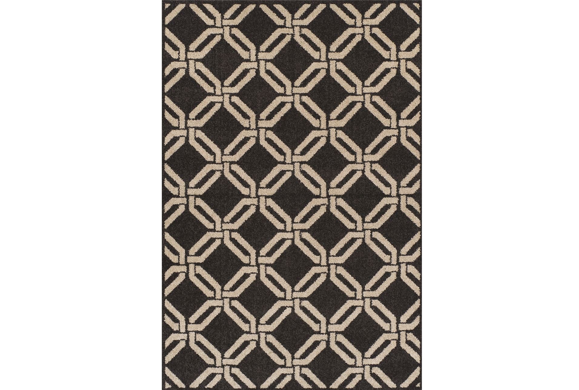59x84 rug marcello black living spaces for Living spaces rugs