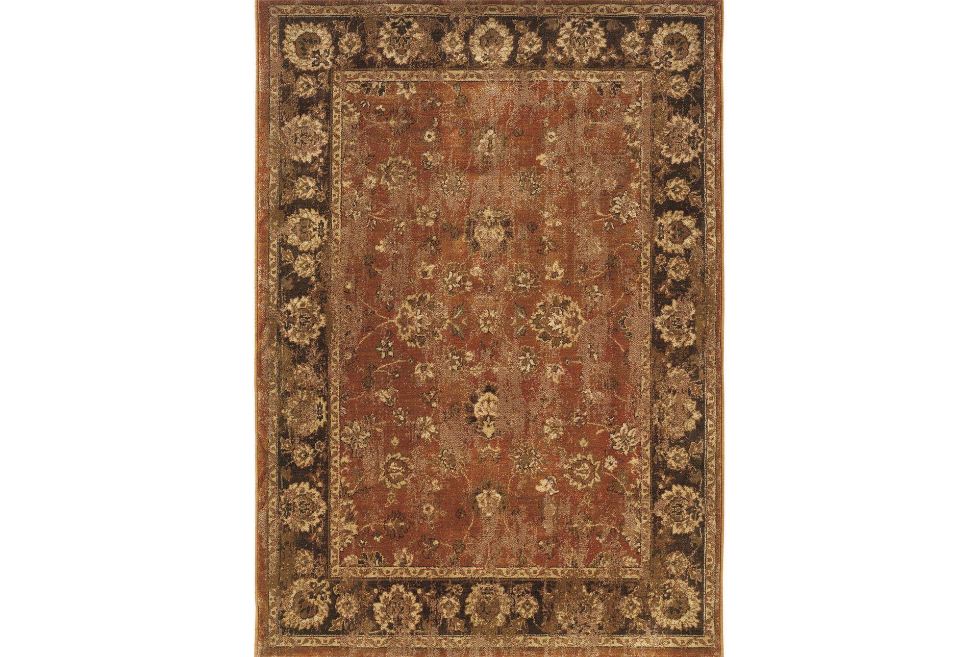 63x90 rug ingrid cinnamon living spaces for Living spaces rugs